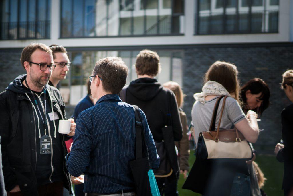 Sven. Links im Bild auf dem #BSEN. (Foto: Michael Schmidt/redtowerfilms)